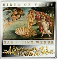 Niue - 2014 - Masterpieces of the Renaissance - Birth of Venus Proof Silver Coin