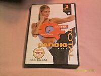 Quickfix Total Cardio Kick DVD Janis Saffell Workout Exercise