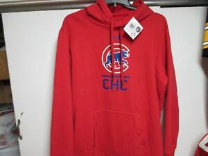 CHICAGO CUBS UNDER ARMOUR HEAT GEAR HOODED SWEATSHIRT MENS (XXL) NWT $75 RED