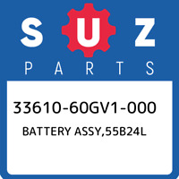 33610-60GV1-000 Suzuki Battery assy,55b24l 3361060GV1000, New Genuine OEM Part