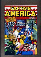 1999 Captain America Comics #1 NM- Euro Gold Foil Variant 1st Appearance Origin