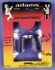 Morris Costumes Exhaust Metal Whistle Rack Pack Device. RP10