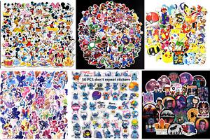 Nintendo/ Disney/ Mario/Pokemon Laptop Car Mobile Phone Collectible Sticker