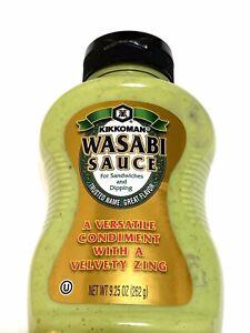 [Kikkoman] Sauce Wasabi 9.25 OZ Japanese Style For Sandwiches Dipping Paste