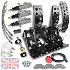 FITS Ford KA Hydraulic Floor Mounted Pedal Box + KIT B CMB6153-HYD-KIT+LINES