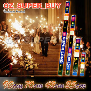 25cm~90cm Large Sparklers Party Sparkler For Birthdays Party Parties Wedding