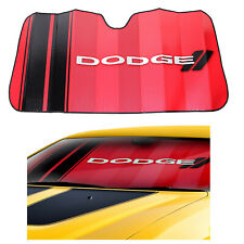 New DODGE Classic Logo Car Truck Front Windshield Folding Accordion Sun Shade