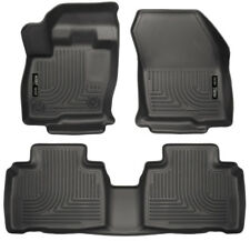 Front and Rear Floor Mat Set For 2015-2018 Ford Edge 2017 2016 Husky 98781