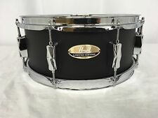 "Pearl LIMITED EDITION 13"" Diameter  X 5.5"" Deep Snare Drum/Satin Slate Black/NEW"
