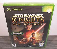 Star Wars: Knights of the Old Republic (Xbox) BRAND NEW. RARE 1st Print. Mint!