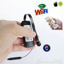 X8 Hidden 1080P Hd wireless Wifi Ip Recorder mini Camera micro Black screw Dvr