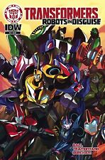 TRANSFORMERS ROBOTS IN DISGUISE ANIMATED #4 IDW Comics NM - Vault 35