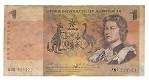 Australia -  One (1) Dollar  1969