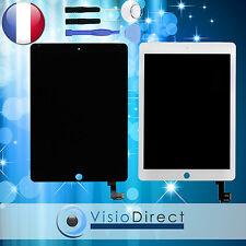 Ecran complet pour iPad Air 2 blanc/noir vitre tactile + ecran LCD +outils+verre