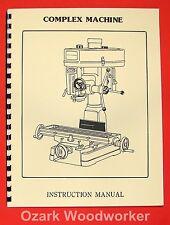 "Asian Complex, Enco, MSC, 15"" Drill Mill Instructions & Parts Manual 0015"