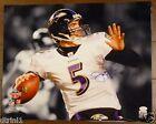 Joe Flacco Baltimore Ravens Autograph 16 x 20 Signed Photo JSA
