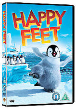 Warner Bros Happy Feet (DVD, 2007, Standard Edition) Elijah Woods