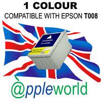 1 Nicht-Oem Farbe Tintenpatrone Alternativ für Epson T008