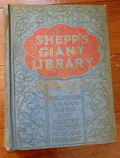 SHEPPS GIANT LIBRARY - Music - Art - History - Fiction... 1897