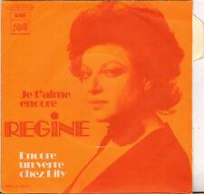 """REGINE """"JE T'AIME ENCORE"""" SP  PATHE 2C 006-11727"""