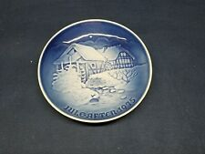 "1975 Bing & Grondahl Copenhagen Porcelain Plate""Christmas at the Old Water Mill"