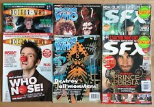 Doctor Who Magazine & SFX - Lot of 6 Different Magazines - 2009 & 2010