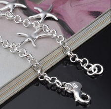 Jewelry Woman starfish Bracelet Promotion 925 Sterling Silver plating