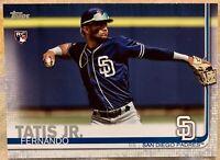 2019 TOPPS FERNANDO TATIS JR #410 RC SERIES 2 San Diego Padres Brand New 🔥🔥🔥