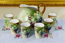 O. & E. G. Royal Austria Antique (c. 1899 ~ 1918) Set of Pitcher and Cup