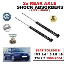 2x REAR SHOCK ABSORBERS for SEAT TOLEDO II 1M2 1.4 1.6 1.8 1.9 TDi 2.3 1999-2004