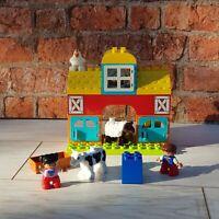 Lego Duplo 10617 My First Farm Set Complete Cow Sheep Children's Kids Toy