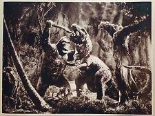 """King Kong 1933 FULL SIZE 24"""" x 32"""" Movie Poster Horror Scary Godzilla Bar Mancav"""