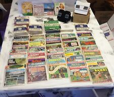 Amazing Collection Of Vintage Viewmaster Reels, Projectors, Booklets