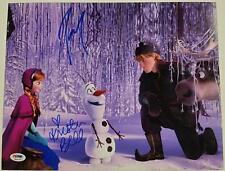 KRISTEN BELL + JOSH GAD Signed 11x14 Photo #2 Disney's FROZEN Auto PSA/DNA COA