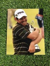 LOUIS OOSTHUIZEN GOLF OPEN CHAMPION 2010 HAND SIGNED AUTHENTIC 8x10 PHOTO COA
