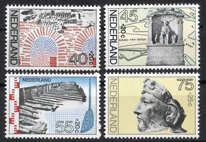 Netherlands 1977, Summer stamps, Nr. SG 1269-1272, Mi 1097-1100, MNH**