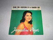 EUROVISION 1960 EP FRANCE JACQUELINE BOYER POURCEL
