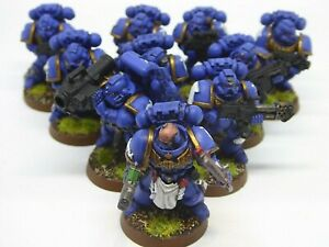 Warhammer 40K Ultramarine space marine tactical squad B