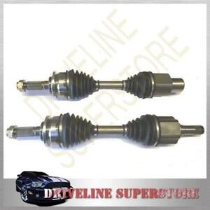 MAZDA BT50 UP FRONT CV JOINT DRIVE SHAFTS year 2012-2015 SET OF TWO BRAND NEW