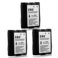3x 1200mAh Battery HNN9044A for Motorola HNN9056 HNN9056A Spirit SP10 SP21 SP50