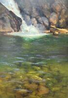 Shane Harris Original Oil Painting Impressionism  Landscape Signed