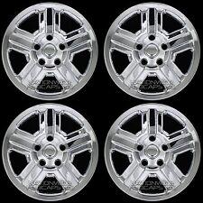 """Set of 4 CHROME 07-18 Jeep Wrangler 16"""" Wheel Skins Hub Caps New Full Rim Covers"""