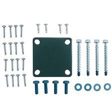 Blu-Mount Post Mount Hardware for Concrete (Fencing) - LMT 1369-HD
