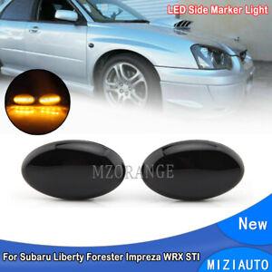 LED Side Marker Light  For Subaru Liberty 00-03 Forester Impreza WRX STI 02-07