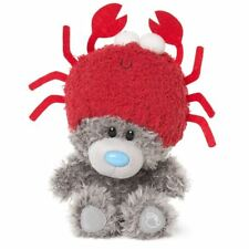 Me to You My Dinky Bear wearing crab hat, sits 23cm