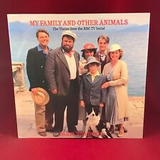 "DARYL RUNSWICK My Family And Other Animals 1987 UK 12"" vinyl single BBC TV SERIE"