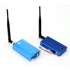 Wireless Audio Video AV Transmitter & Receiver Antenna 1.3G 4CH Fr Home Security