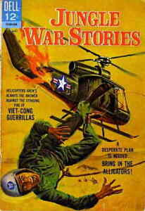Jungle War Stories #11 VF; Dell | save on shipping - details inside