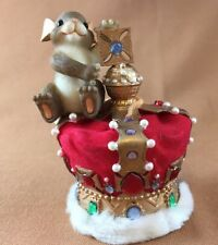 Charming Tails May Today Be Your Crowning Glory 98/416 Fitz and Floyd Orig Box