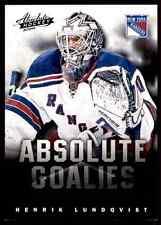 2013-14 Panini Absolute Hockey Henrik Lundqvist #5